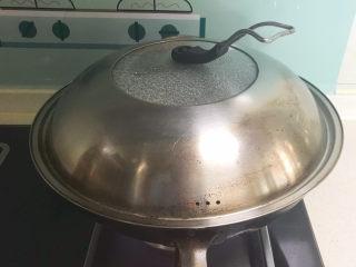酸辣娃娃菜,大火烧开后蒸5分钟