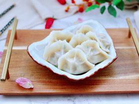 蒜黄牛肉饺子