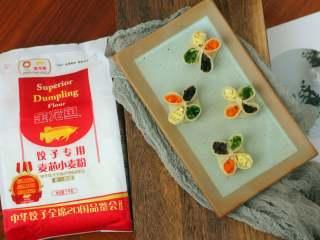 四喜蒸饺,成品2