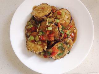 鱼香茄盒,早上葱花就可以出锅啦。