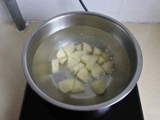 玉米浓汤,煮熟