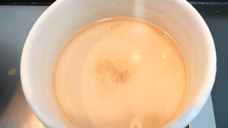 芙蓉鲜蔬汤,上锅,加入水800克