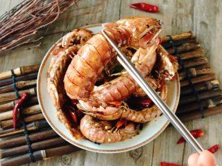 香辣皮皮虾,成品