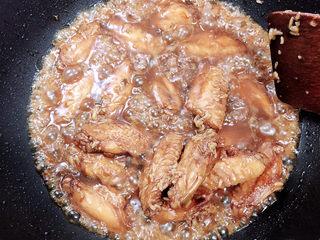 可乐鸡趐,收汁即可出锅了。