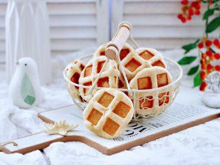 全麦果仁红糖华夫饼