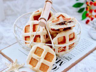 全麦果仁红糖华夫饼,香甜浓郁又颜值担当。