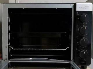 博文的甜甜圈,预热烤箱160度