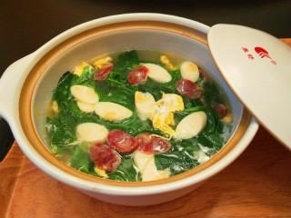 芙蓉鲜蔬汤,芙蓉鲜蔬汤好吃又好喝。