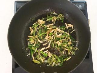 青椒炒猪肚,炒出香味