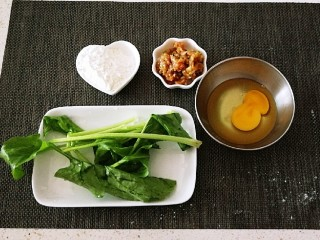 广州肠粉,食材准备好