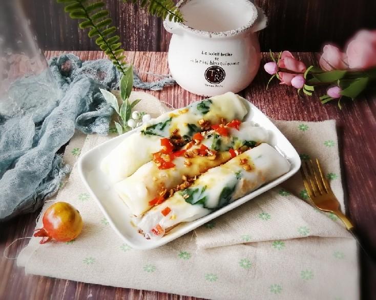 广州肠粉,美味适口  嫩滑鲜香
