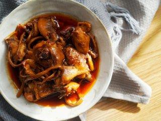 茶树菇炖鸡,我们想要的味道!,成品图