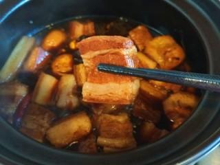 家常卤肉饭,肉完全吸收了调料的香味儿。