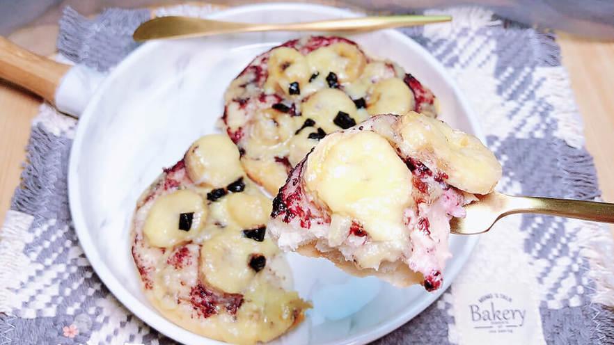 蓝莓芝士迷你披萨