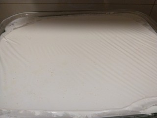 广州肠粉,封上保鲜膜。