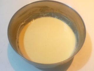 酸奶鸡蛋饼,面糊饧发好了