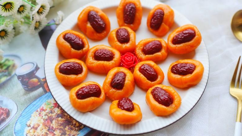 胡萝卜红枣点心
