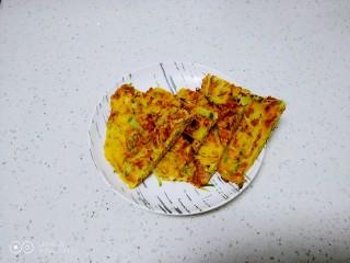 玉米面、白萝卜、蟹黄瓜子仁饼