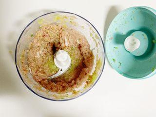 1岁➕宝宝辅食:好吃的牛肉饺子,打好的饺子馅