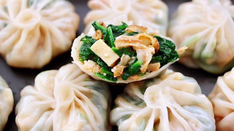 萝卜樱海鲜豆腐蒸饺,简直不要太好吃了,老公一口气吃了一屉还意犹未尽。