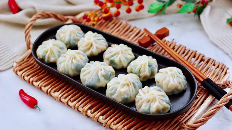 萝卜樱海鲜豆腐蒸饺,我要开动了。