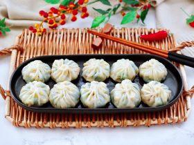 萝卜樱海鲜豆腐蒸饺