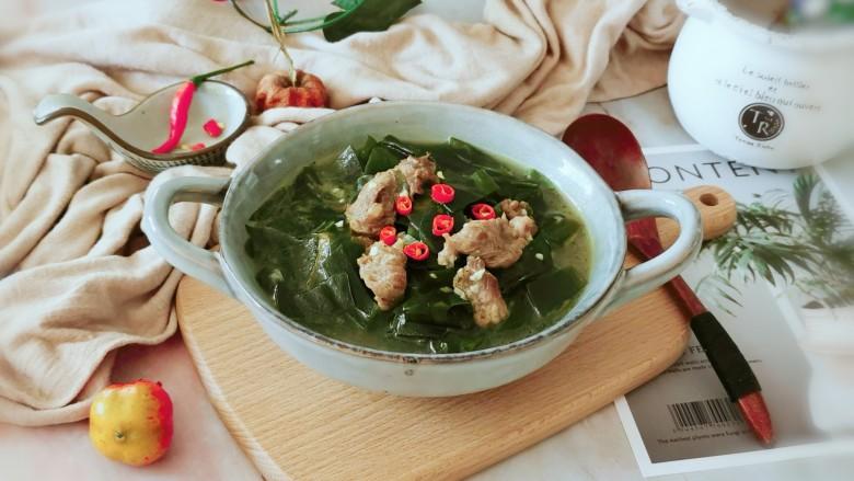 韩国海带汤