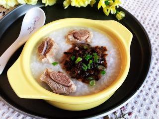 香菇排骨粥