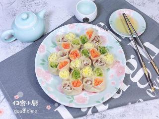 冬至美食 喜庆四喜蒸饺,一道高颜值,喜庆又有好彩头的四喜蒸饺就完成了。