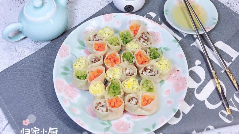 冬至美食 喜庆四喜蒸饺