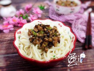 冬至美食 打卤面(香菇肉末卤)