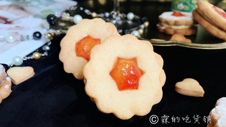 冬至美食 奶酪夹心饼干