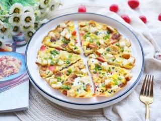 冬至美食 吐司披萨