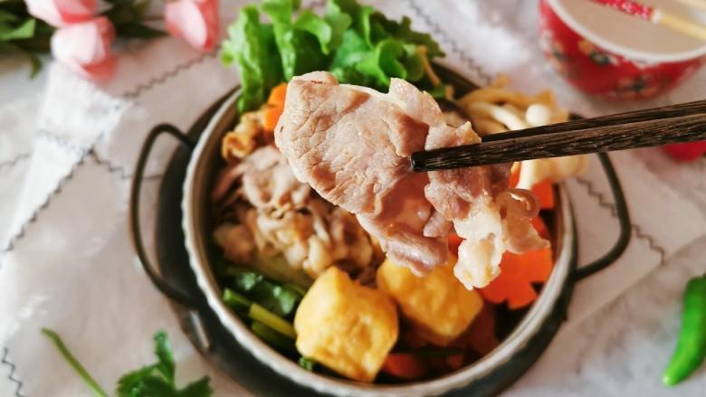冬至美食 羊肉火锅,香香的羊肉片多么美味诱人