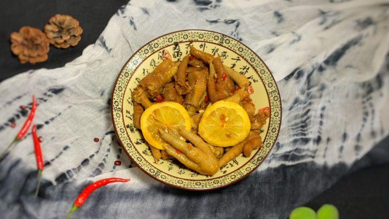 冬至美食—柠檬鸡爪,我没放忘记买了冷藏一夜