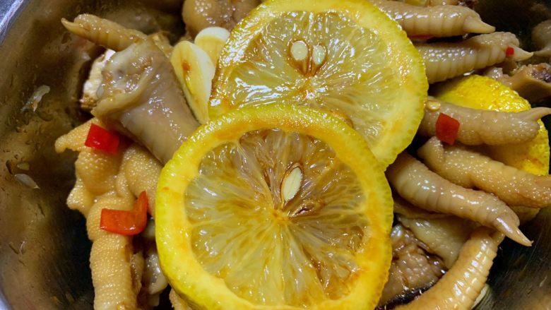 冬至美食—柠檬鸡爪,一勺香油