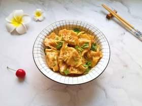 冬至美食  红油干拌饺子