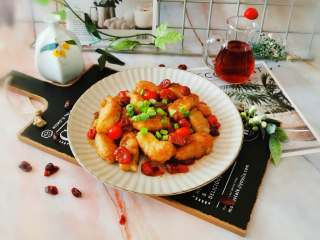 冬至美食  莓果烧鱼块