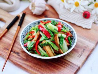 小白菜素炒香干