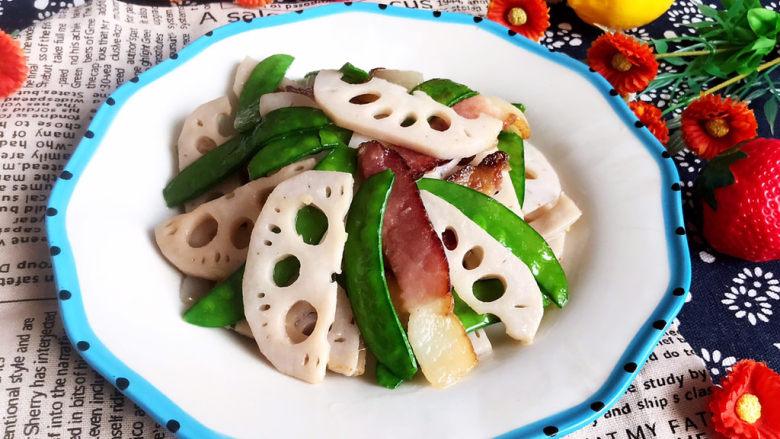 莲藕炒肉片,这道莲藕炒肉片是一道减脂菜,减肥的朋友不要错过呦~