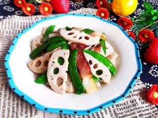 蓮藕炒肉片