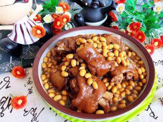 黄豆炖猪脚