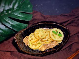 莲藕炒肉片,美味时间