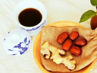 风寒感冒初起,一杯姜枣茶搞定