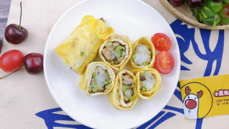 鹅肝蛋卷饭,口感细腻富含维A,源自北欧,纯净生鲜【小鹿优鲜】