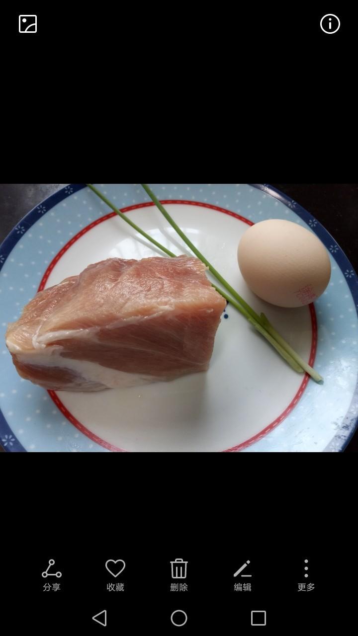 油炸酥肉,准备所需材料