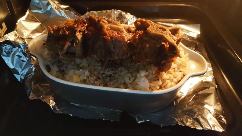 冬季滋补好时机,烤羊蝎子藜麦饭,烤制十分钟