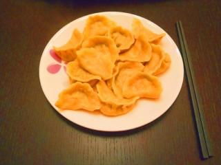 彩色水饺,成品图