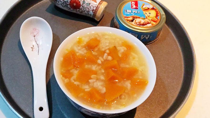奶香南瓜粥