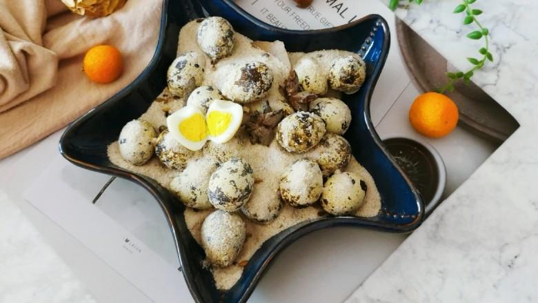 盐焗鹌鹑蛋,很不错的下酒小菜